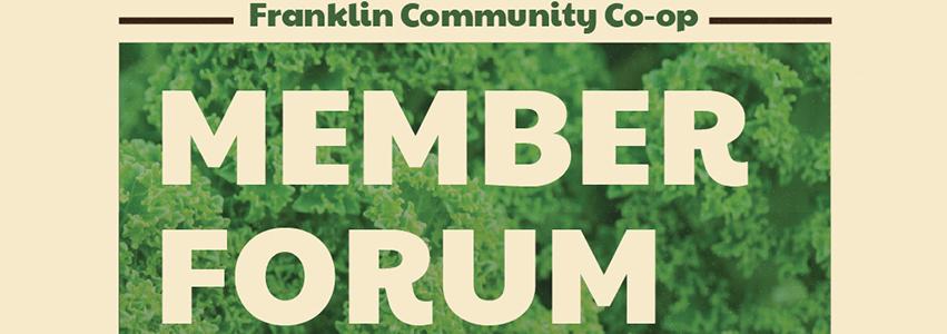 Final Member Forum